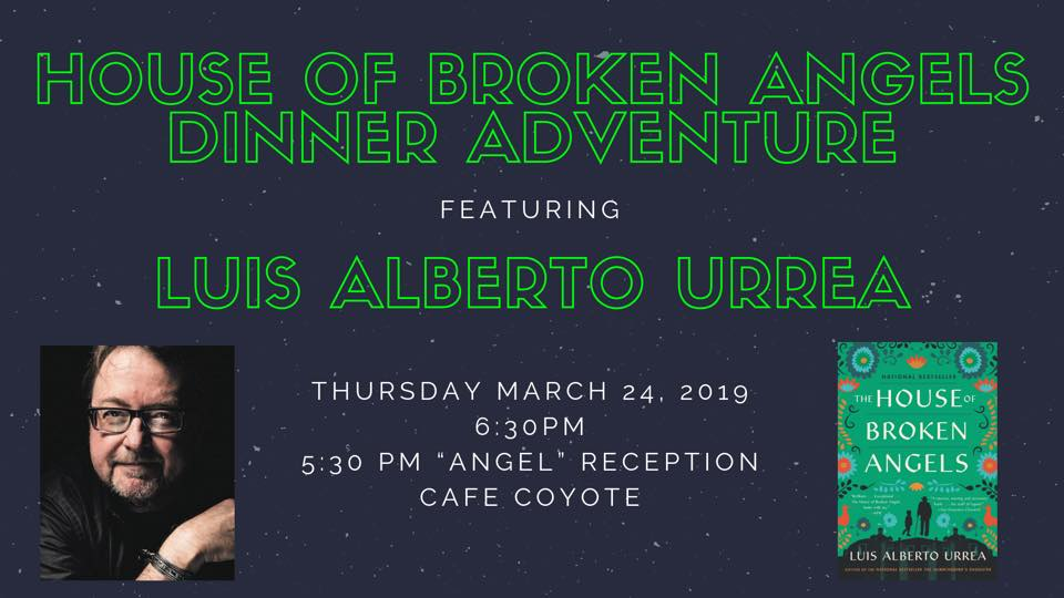 House of Broken Angels Dinner Adventure