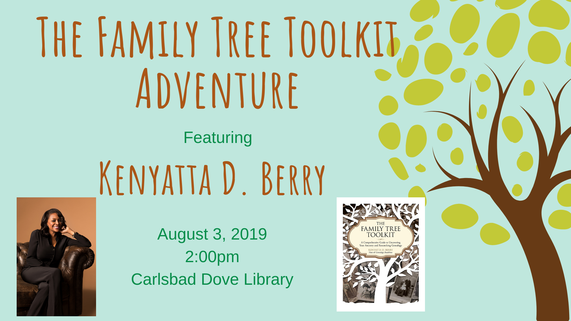 The Family Tree Toolkit Free Library Adventure - Adventures