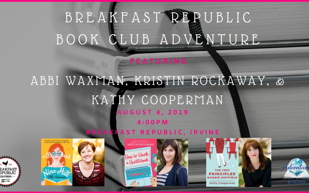 Breakfast Republic Book Club Adventure